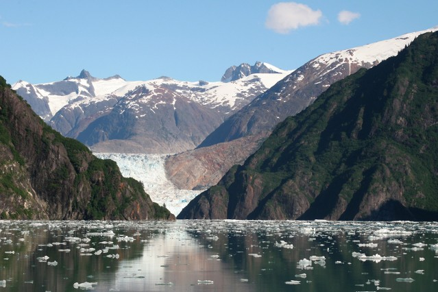 Tracy Arm near North Sawyer Glacier
