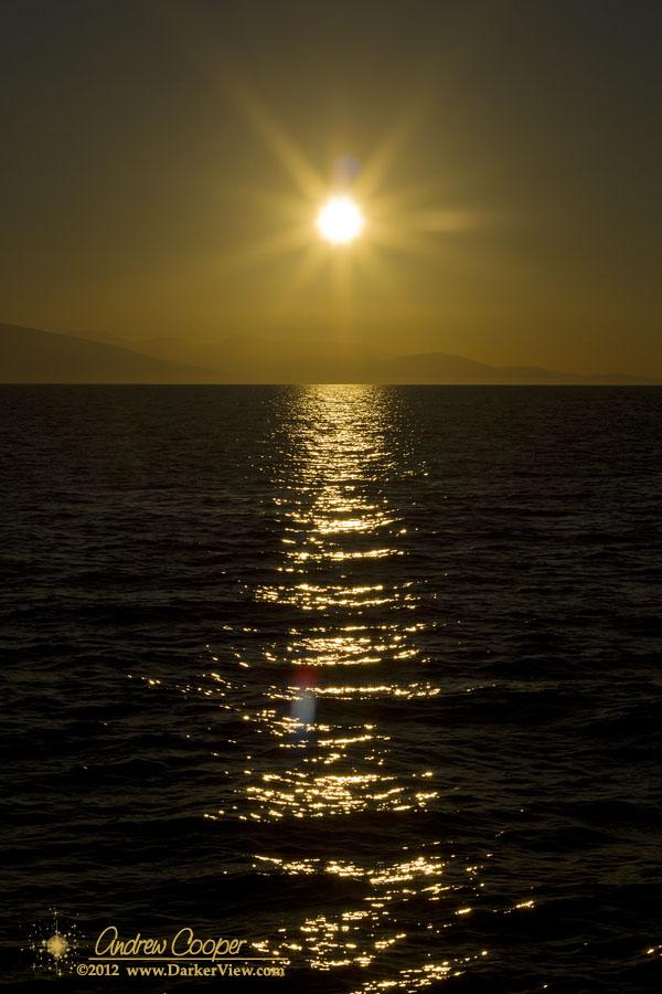 Sunrise over Georgia Strait