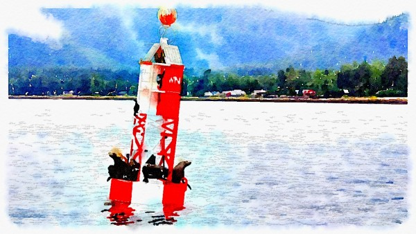 Resting on the Buoy