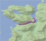 Sealion Cove trail map