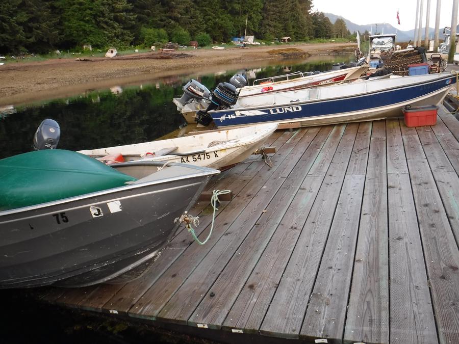 Tenakee Small Boats