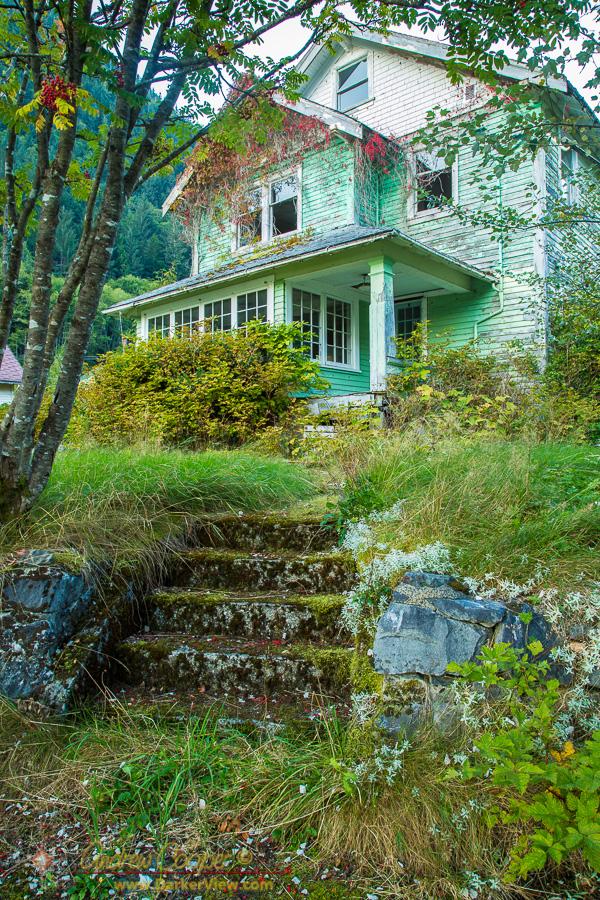 Abandoned House in Ocean Falls